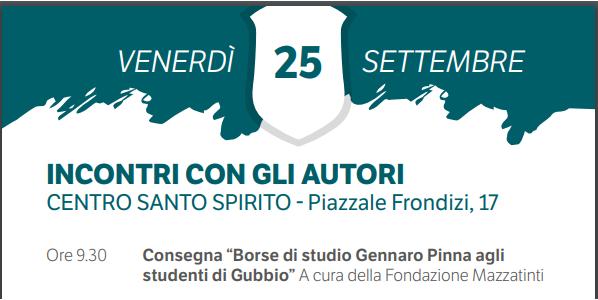 Consegna BORSE di Studio Prof. Gennaro Pinna